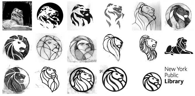 Proceso de diseño de logotipo